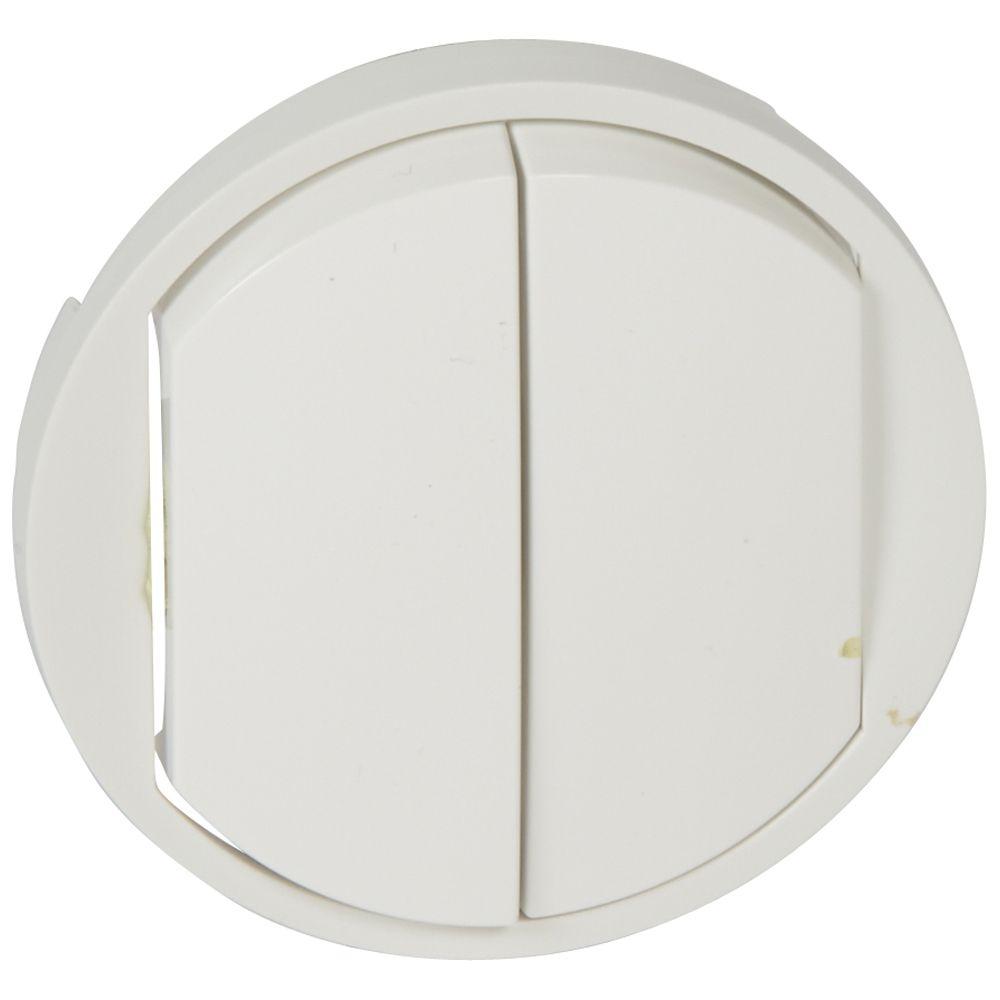 Enjoliveur Céliane - double VV/poussoir - doigt large blanc
