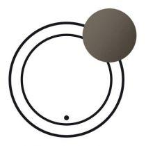 Enjoliveur Céliane - parafoudre - graphite
