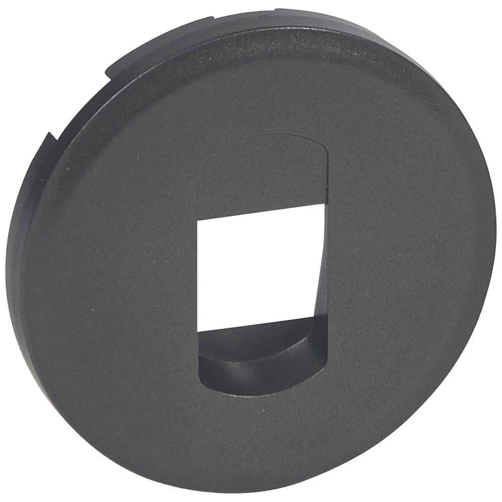 Enjoliveur Céliane - prise HP simple - graphite