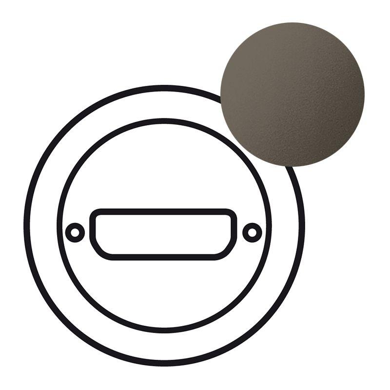 Enjoliveur Céliane - prise SUB D 9 ou vidéo HD 15 - graphite