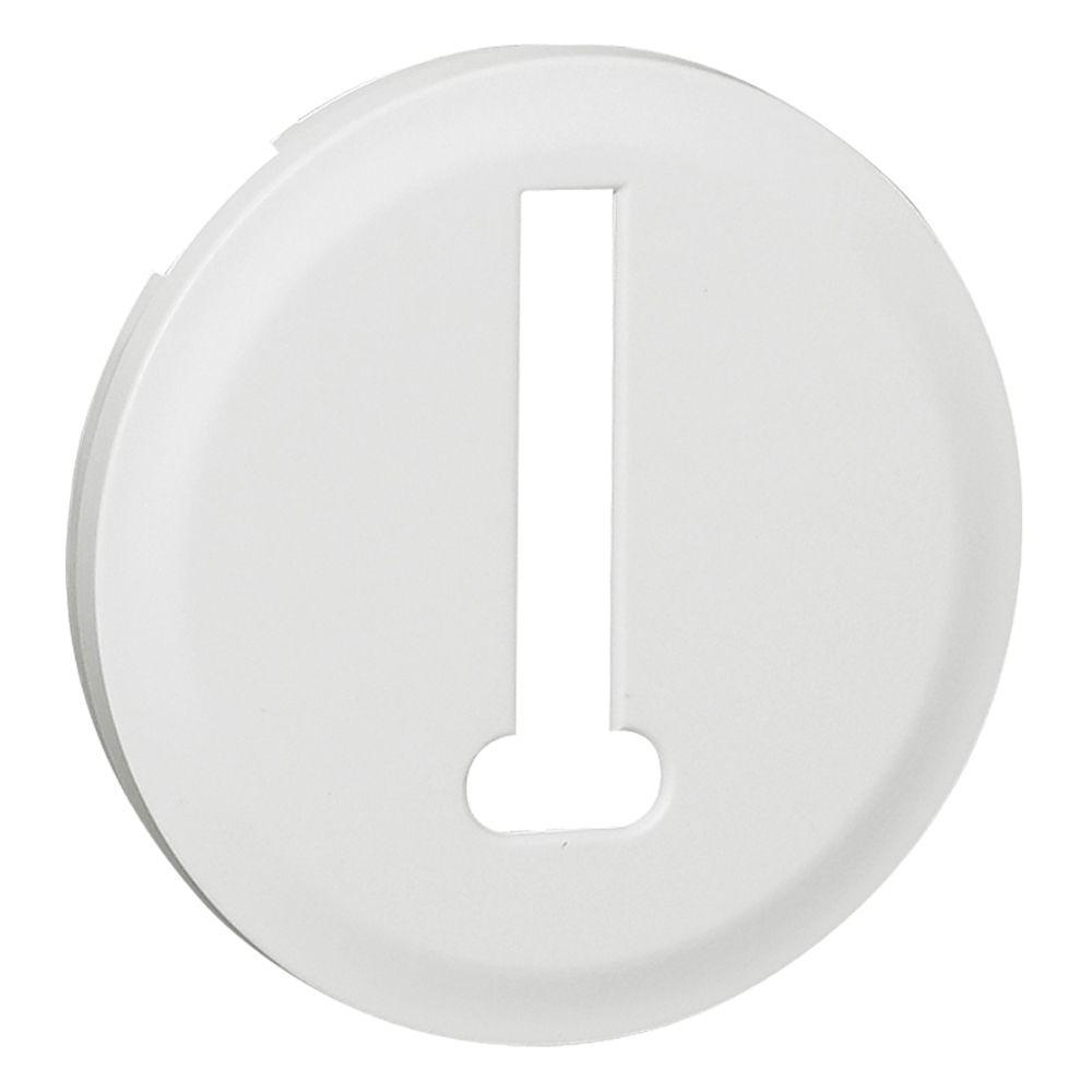 Enjoliveur Céliane - prise téléphone 8 contacts - blanc