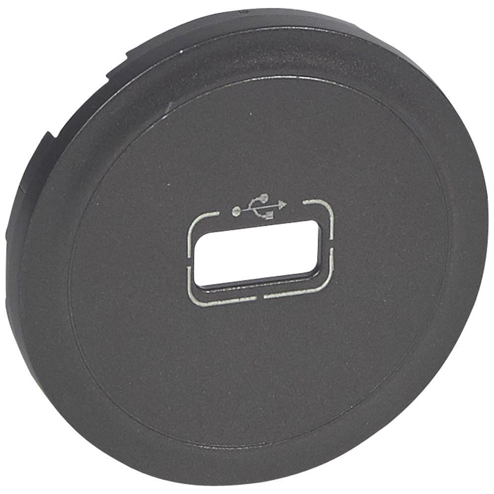 Enjoliveur Céliane - prise USB - graphite