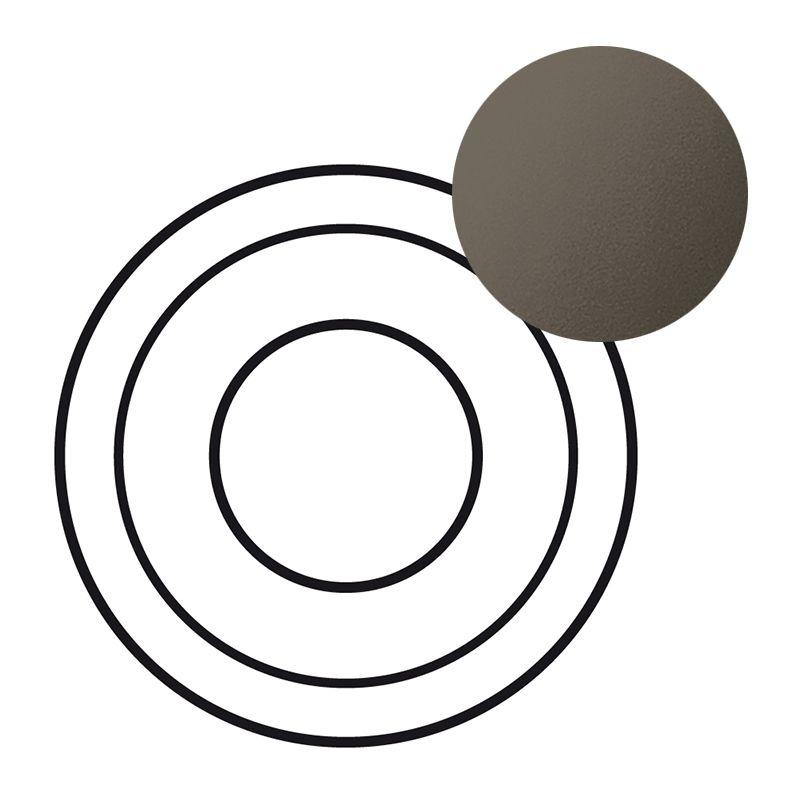 Enjoliveur Céliane - prise XLR femelle - graphite