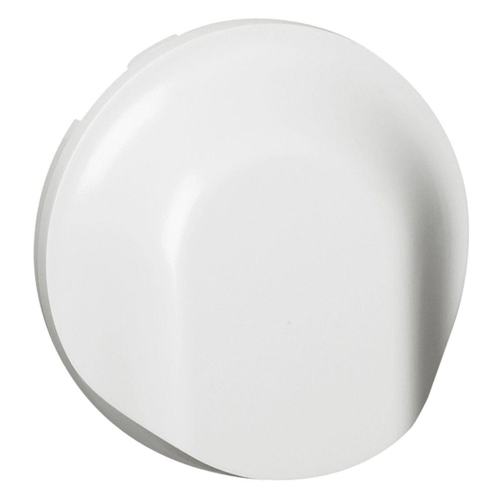 Enjoliveur Céliane - sortie de câble - blanc