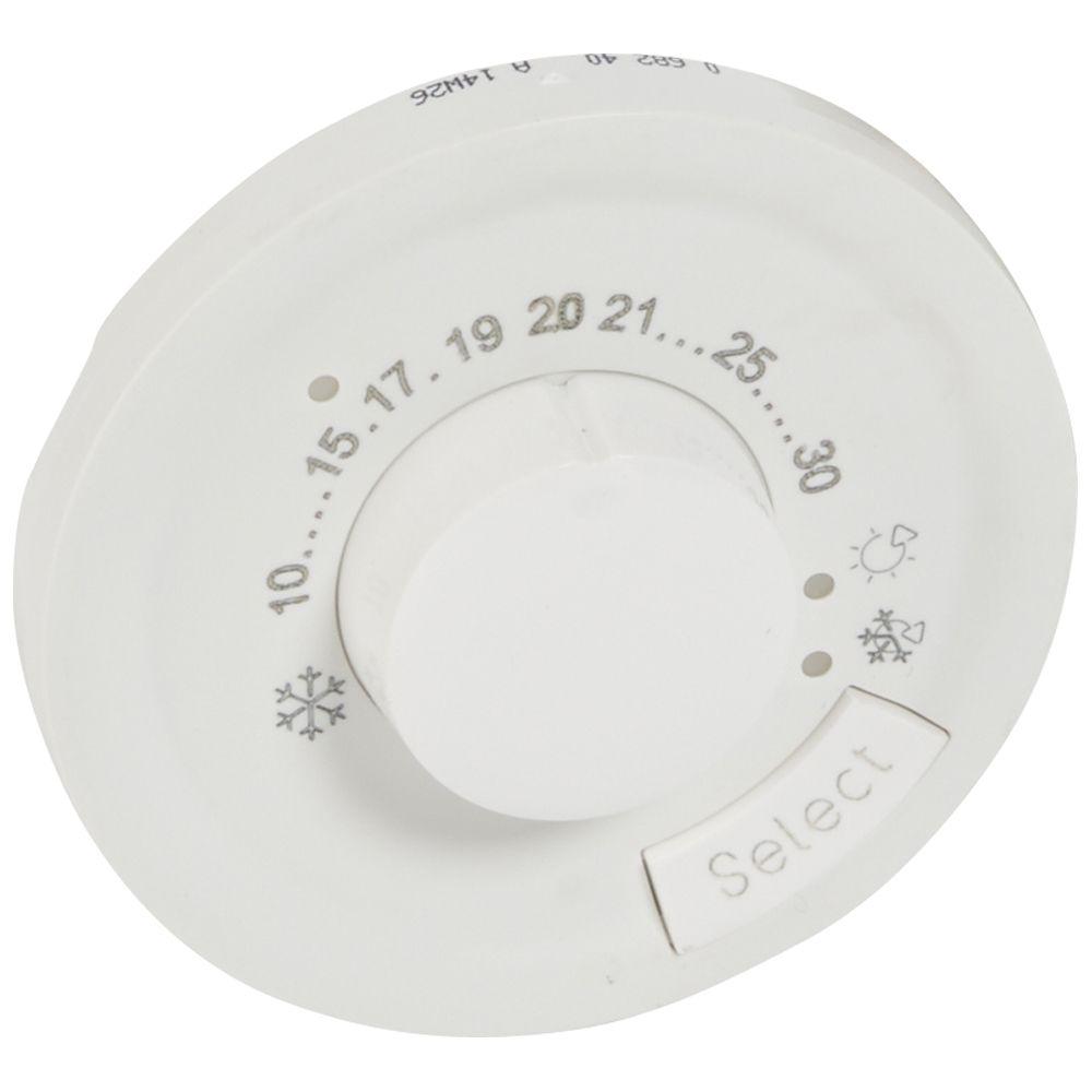 Enjoliveur Céliane - thermostat d\'ambiance - blanc