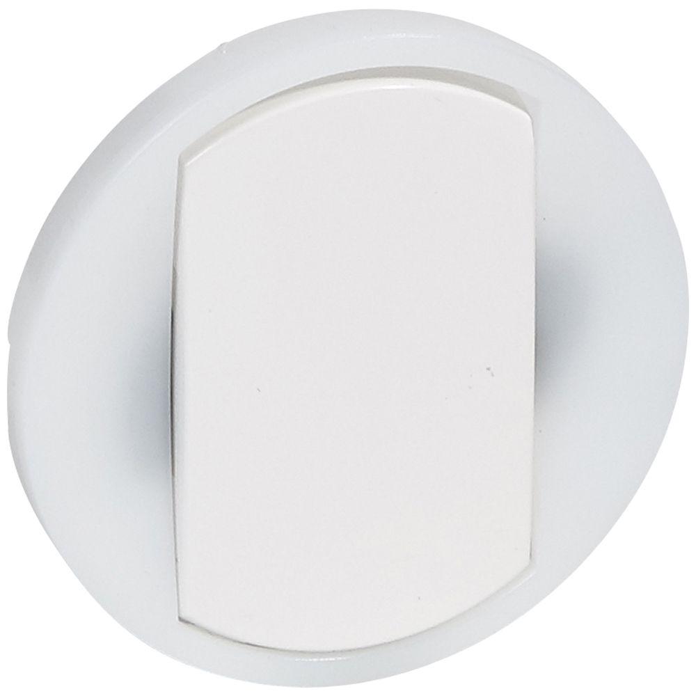 Enjoliveur Céliane - VV / poussoir avec couronne lum - doigt large blanc