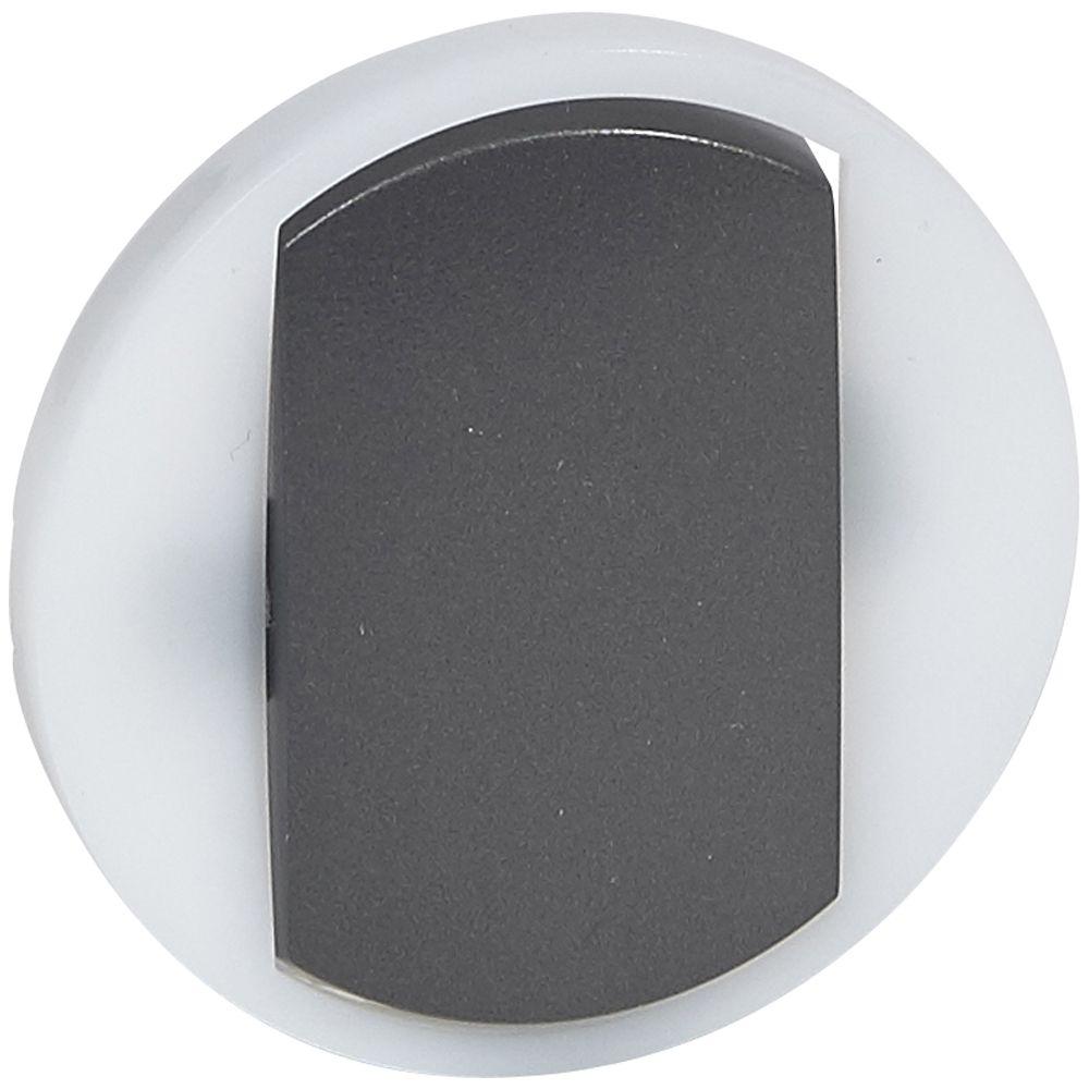 Enjoliveur Céliane - VV / poussoir avec couronne lum - doigt large graphite