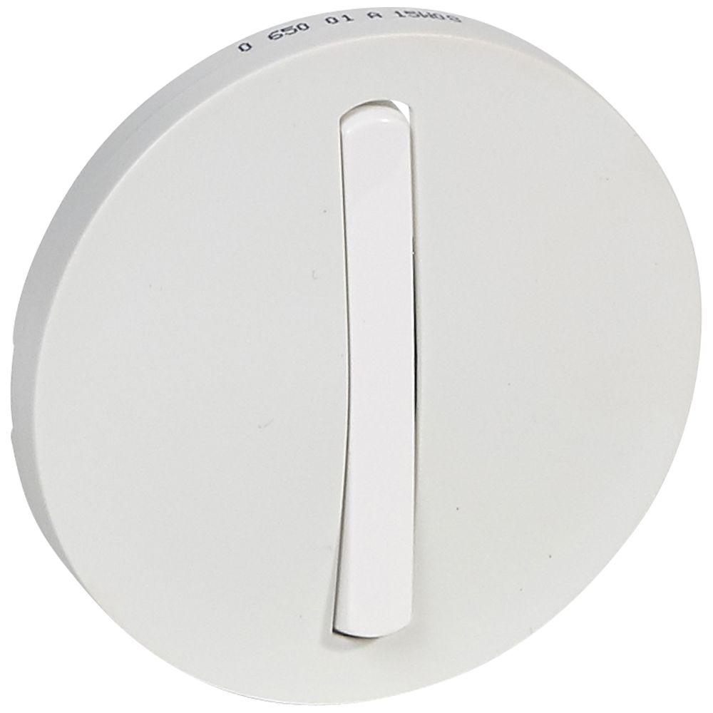 Enjoliveur Céliane - VV/poussoir - doigt étroit blanc