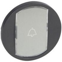 Enjoliveur Céliane - VV/poussoir avec porte étiquette - doigt large graphite