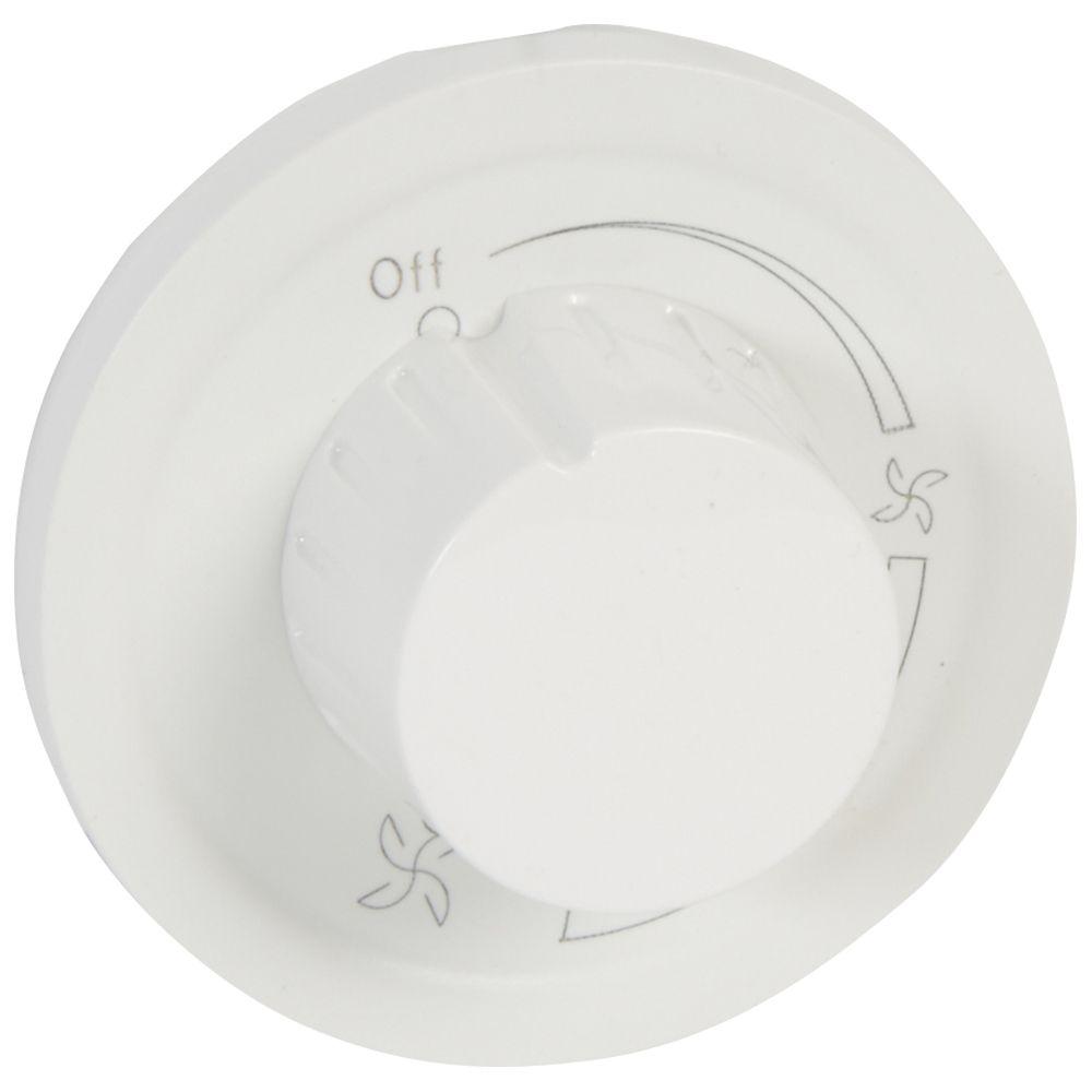 Enjoliveur Céliane -variateur pour ventilateur - blanc