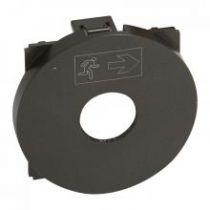 Enjoliveur Céliane MyHOME BUS - interrupteur à clé - graphite (067929)