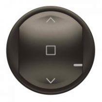 Enjoliveur de remplacement Céliane with Netatmo pour interrupteur ou commande pour volet roulant - graphite (064839)