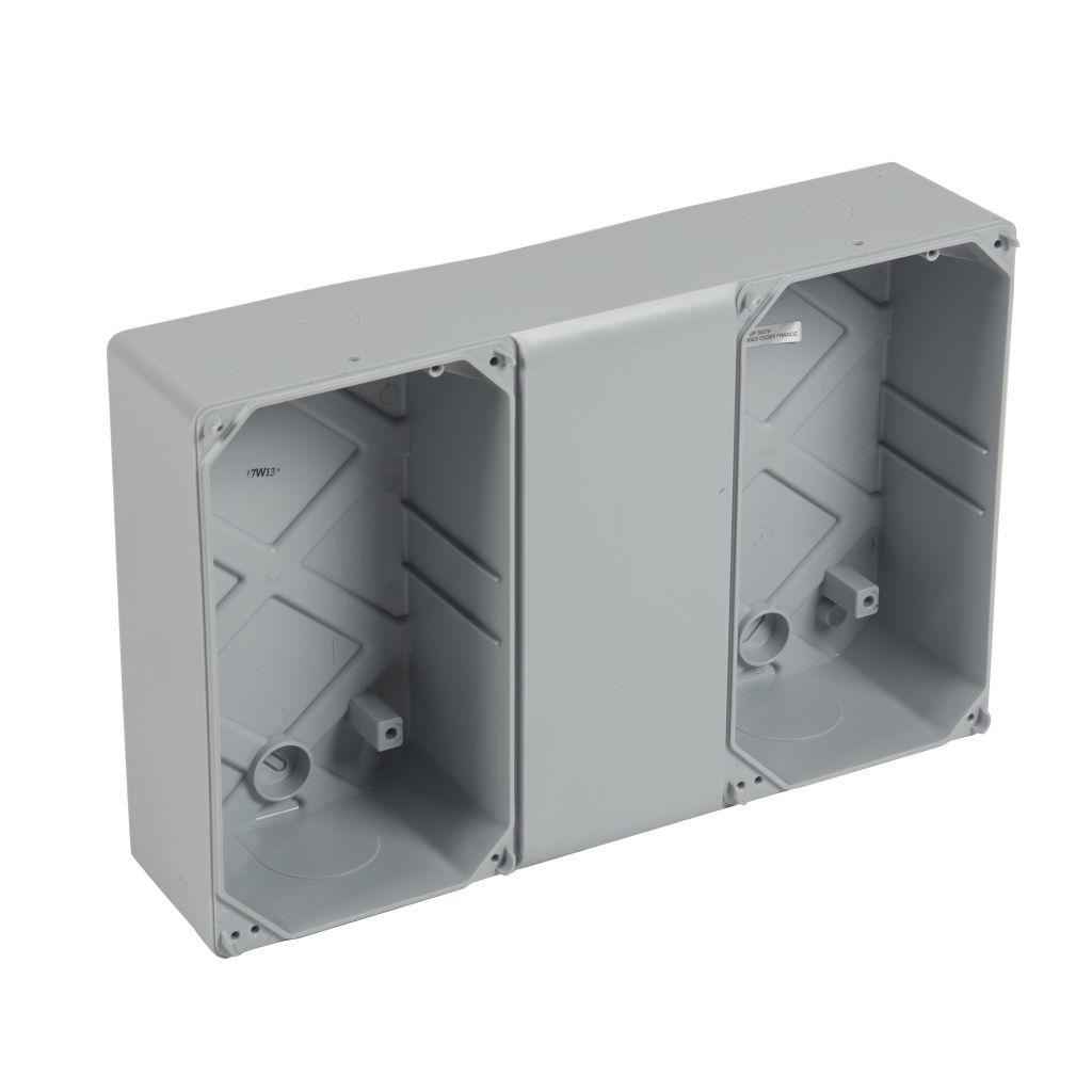 Gaine multifonction pour coffrets Plexo - horizontale - 12 modules (001919)