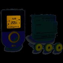 Gestionnaire d'énergie 2 zones + indicateur de consommations toutes énergies (6050599)