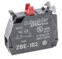 Harmony - bloc contact O pour XB4 ou XB5 - raccordement vis étrier (ZBE102)