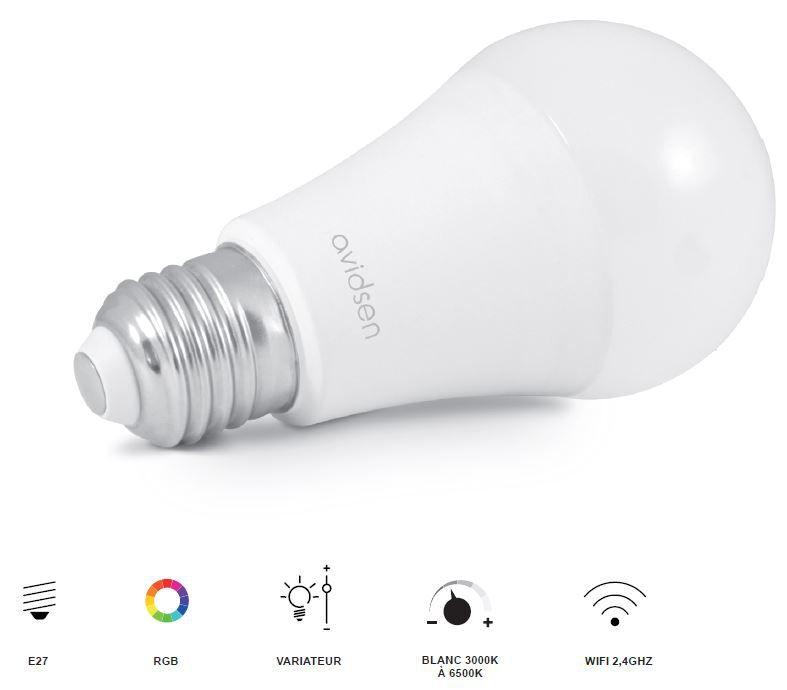 HomeLight - ampoule connectée E27 (127009)