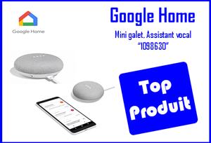 google home mini galet assistant vocal