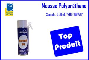 Mousse Polyuréthane 500ml réseau socoda