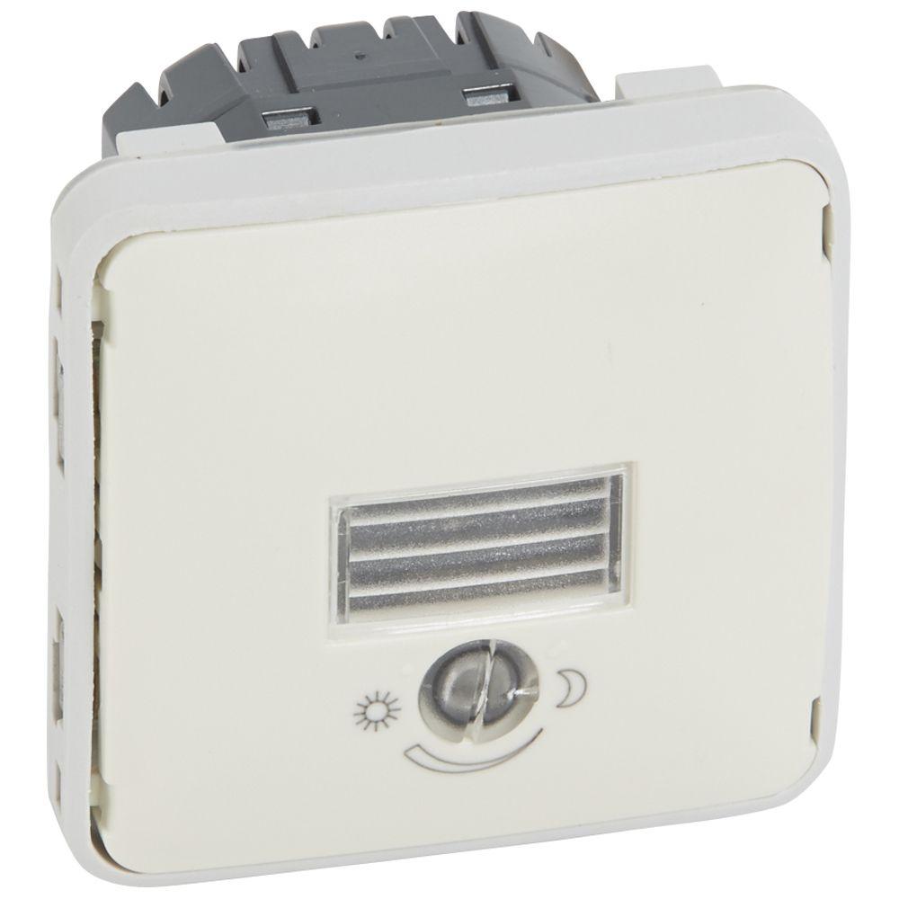 Inter crépusculaire Prog Plexo composable blanc - 1400 W