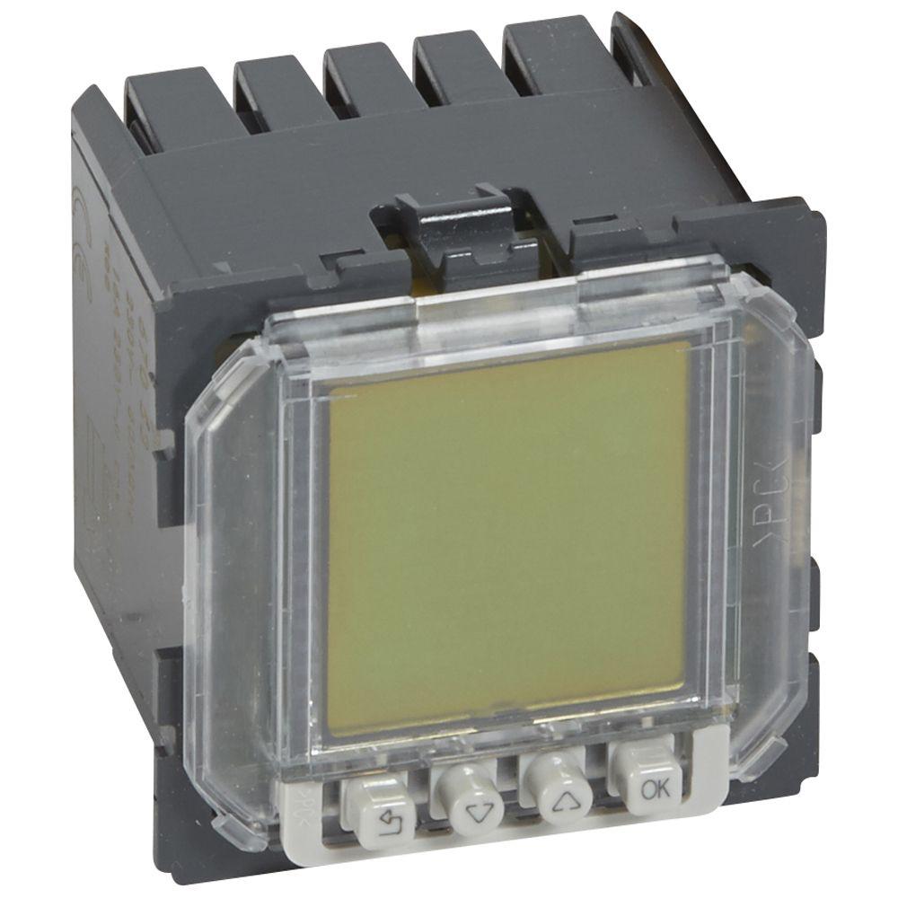 Inter horaire programmable Céliane - 230 V~ - 50/60Hz