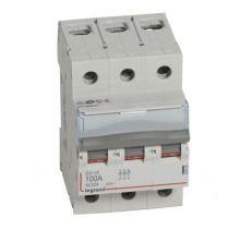 Inter-sectionneur de tête DX³-IS - vis/vis - 3P - 400 V~ - 100 A - 3 M (406469)