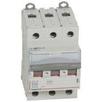 Inter-sectionneur de tête DX³-IS - vis/vis - 3P - 400 V~ - 63 A - 3 M (406461)