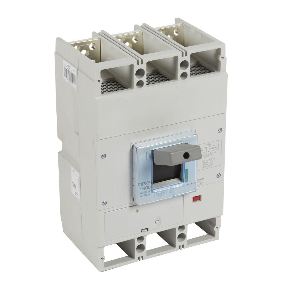 Interrupteur à déclenchement libre DPX³-I 160 - 3P - 800 A (422491)