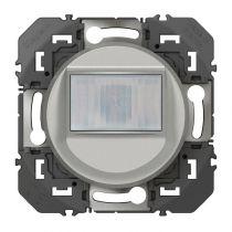 Interrupteur automatique pour minuterie en remplacement d\'un poussoir dooxie finition alu (600161)