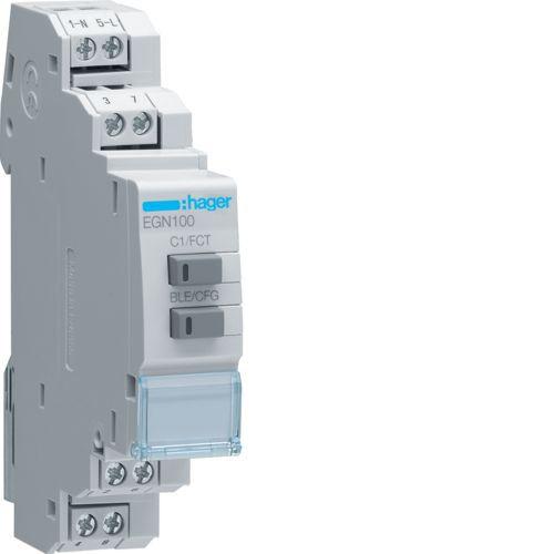 Interrupteur horaire 1 voie multi-fonctions Bluetooth (EGN100)
