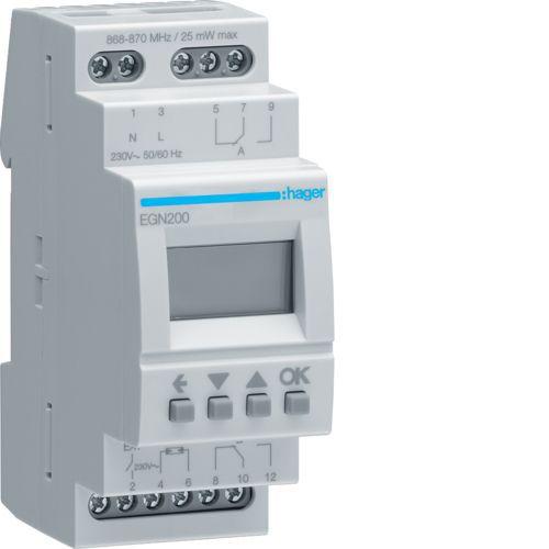 Interrupteur horaire 2 voies multi-fonctions Bluetooth (EGN200)
