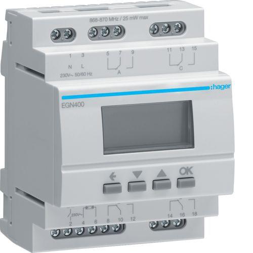 Interrupteur horaire 4 voies multi-fonctions Bluetooth (EGN400)