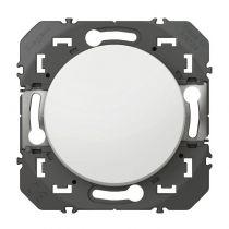 Interrupteur ou va-et-vient dooxie 10AX 250V~ finition blanc (600001)
