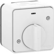 Interrupteur temporisé LED Saillie Blanc Mureva (MUR39067)