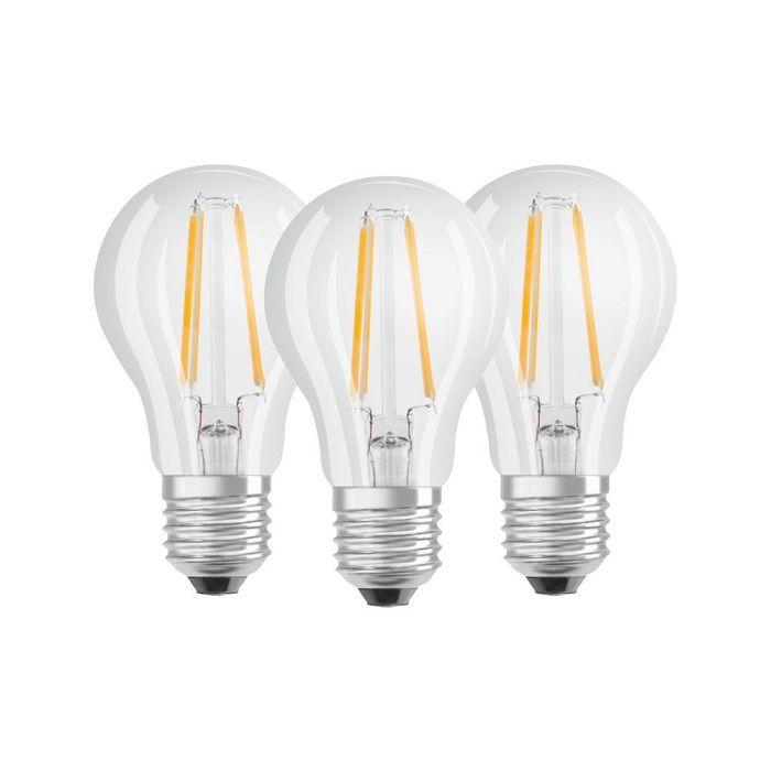 Kit 3 ampoules filaments E27 7W 4000K OSRAM (819535)