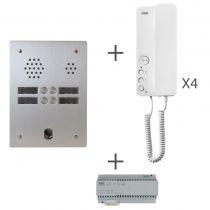 Kit audio 2R 4BP 2 VOICE Programmé (KA83/204)
