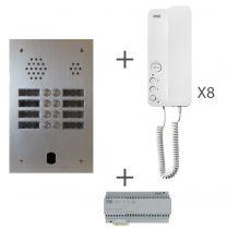 Kit audio 2R 8BP 2 VOICE Programmé (KA83/208)