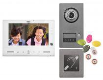 Kit Note 2 ERP vidéo couleur 7'' mains-libres à mémoire 1 appel (1723/71ERP)