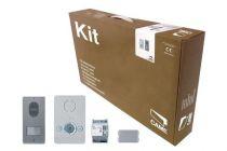 Kit portier Audio BIANCA pour maison individuelle, avec alimentation (001CK0001FR)