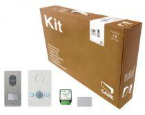 Kit portier Audio BIANCA pour maison individuelle, avec convertisseur