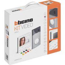 Kit portier résidentiel vidéo à mémoire d\'image Classe 300 V13M - mains libres (COF BT 363611)