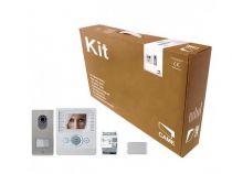 Kit portier Vidéo BIANCA pour maison individuelle, avec alimentation  (001CK0002FR)