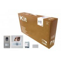 Kit portier Vidéo BIANCA pour maison individuelle, avec convertisseur (001CK0004FR)