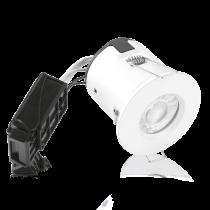 Kit spot encastré aluminium IP65 IsoPRO GU10 5W 3000K blanc (ENAL110W30)