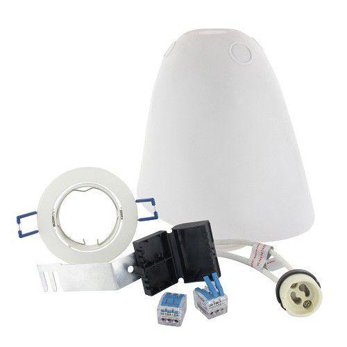 Kit SPOTBOX NO AIR BBC spot LED encastré blanc (694899)