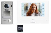 """Kit vidéo écran 7\"""" – écran tactile – moniteur Wi-Fi - saillie résistant au vandalisme (130413)"""