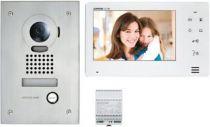 """Kit vidéo platine encastrée avec moniteur écran 7\"""" - touche sensitive (130401)"""
