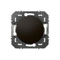 Legrand - Poussoir simple dooxie 6A 250V~ finition noir - (095264)