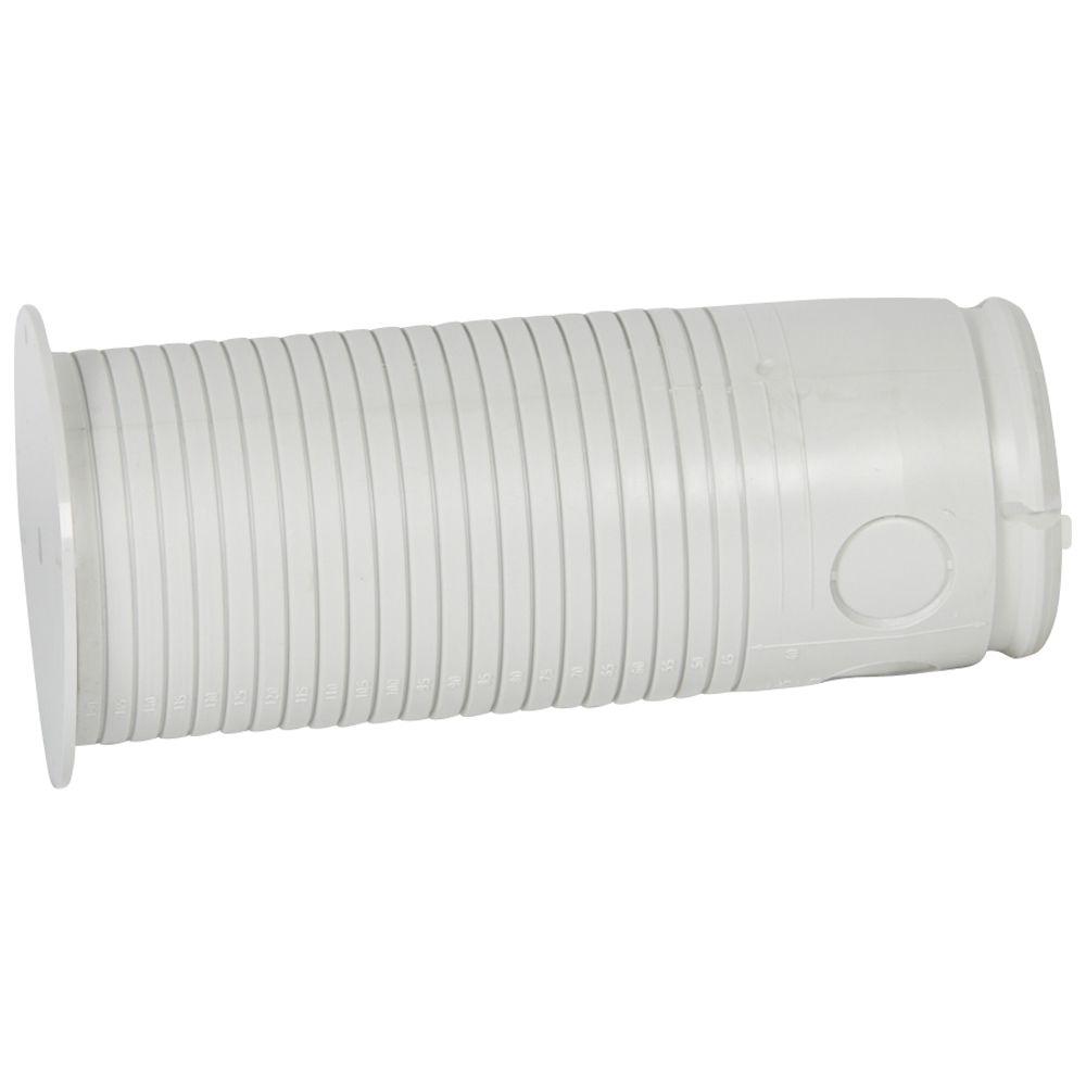 Manchon prolongateur pour cloison de doublage Batibox béton - Ø65 - Long. 150 mm