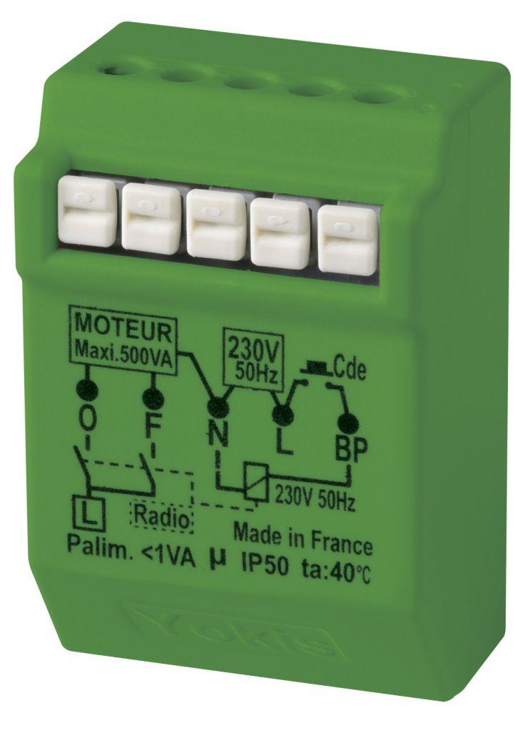 Micromodule Radio pour volets roulants Encastré Power 500W