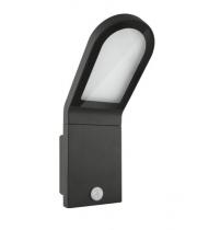 Outboor Façade Edge 12W/3000K gris IP54 sensor (074798)